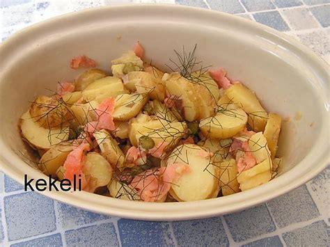 recette de salade de pomme de terre primeur au saumon fum 233