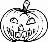 Pumpkin Coloring Pages Printable Pumpkins Halloween Simple Colouring Face Pie Getcolorings Fun Angry Mpmschoolsupplies Colorings Pag Prints sketch template