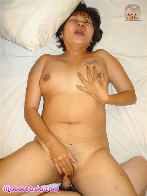 Chunky Amateur Old Asian Grandma From The Philippines