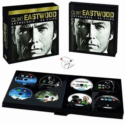 Eastwood Clint Blu Ray Coffret Anthologie Films