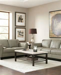 Macy Leather Living Room Furniture