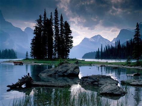 HD wallpapers log homes on lakes Page 2