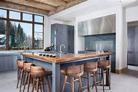 kitchen with island Building the Kitchen Island with Seating to Your Own House - MidCityEast