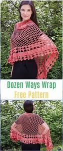 Diagram Crochet Wrap