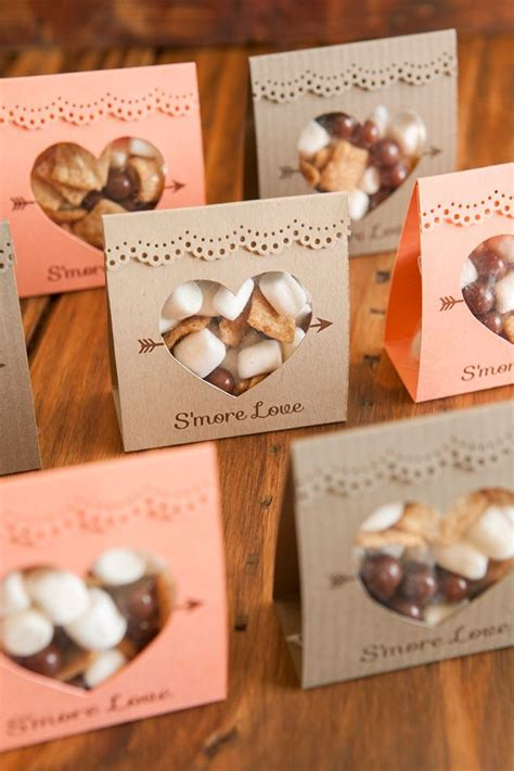 how to make these adorable s more love wedding favors