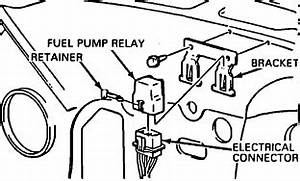 where is the fuel pump relay is on a 1987 k5 blazer With blazer relay wiring kit