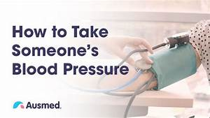 How To Take Someone U0026 39 S Blood Pressure
