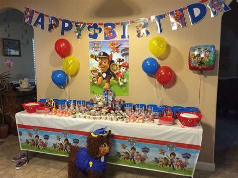 inspirations enchanting paw patrol birthday decorations