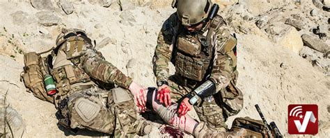 army combat medic recognition   wounded veteran