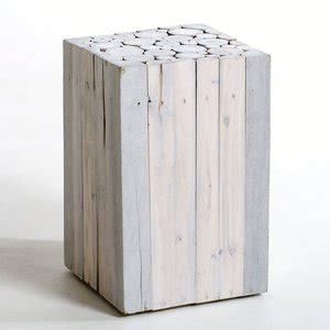 les canap駸 en bois 129 bout de canape bois bout de canap en bois flott et plateau aluminium laqu bout