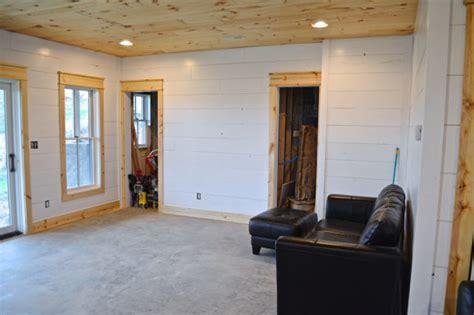 installing shiplap diy shiplap walls and farmhouse trim newlywoodwards