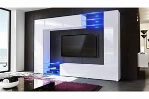 Meuble Tv Mur : meuble tv design mural ~ Teatrodelosmanantiales.com Idées de Décoration