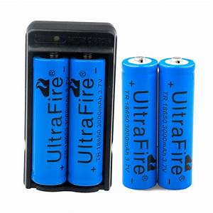 4 X Ultrafire 3000mah 18650 Battery 3 7v Li