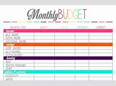2+ budget organizer Procedure Template Sample