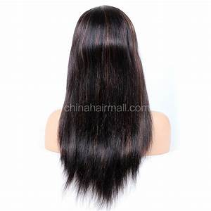 1B30 Highlight Color Lace Front Wigs Indian Remy Hair