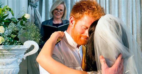 prince harry secretly marries meghan markle  las