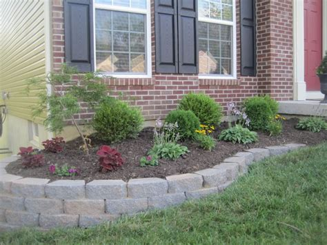 landscaping block walls ideas stone work for the front yard dream home pinterest the o jays for the and the front
