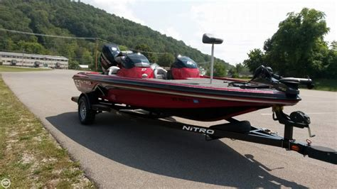 Nitro Z7 Bass Boat by 2013 Used Nitro Z7 Bass Boat For Sale 28 900 St