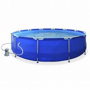 Piscine Gonflable Avec Pompe : piscine tubulaire hors sol gonflable ronde 300x76cm iris ~ Dailycaller-alerts.com Idées de Décoration