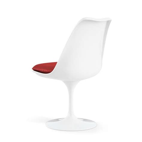 coussin chaise tulipe knoll eero saarinen tulip side chair modern furniture