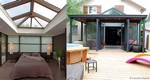 et pourquoi pas une veranda a toiture plate batirenover With toit en verre maison 1 choisir un toit terrasse ou un toit plat pour son extension