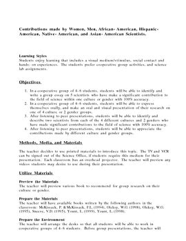 multicultural lesson plan in science by michalek tpt 635 | original 1106 1