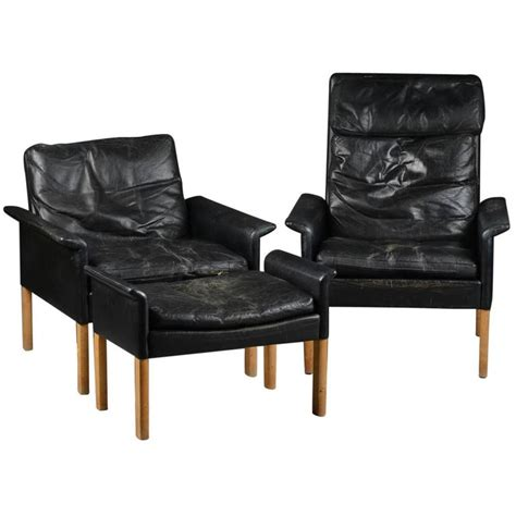 hans scandinavian mid century lounge chairs and