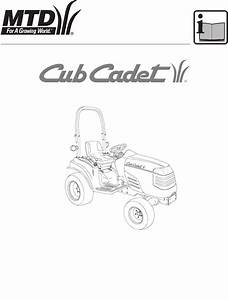 Cub Cadet Lawn Mower 7000 Series User Guide