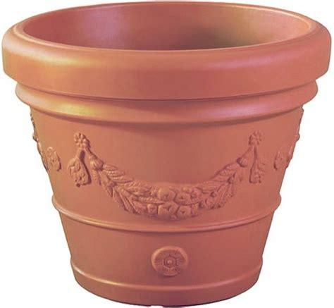 idra plastic terracotta pot  grape design lt