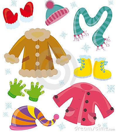 winter clothes clipart   cliparts  images