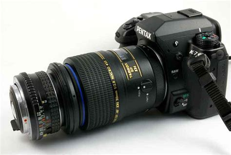 combining  lenses  shooting extreme macro images