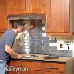kitchen backsplash diy 24 low price diy kitchen backsplash tips and tutorials decor advisor