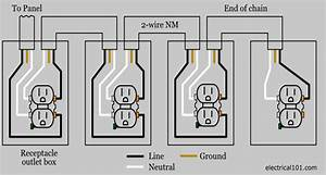 outlet wiring electrical 101 With wiring diagram moreover electrical outlet light switch wiring diagrams