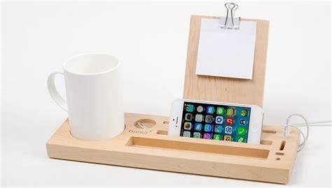 organizer wooden desk organizer handmade tablet