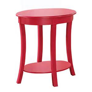 view hot pink oval accent table deals at big lots