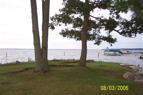 Boat Launch Houghton Lake Mi by Houghton Lake Mi Houghton Lake View From The Dnr Boat