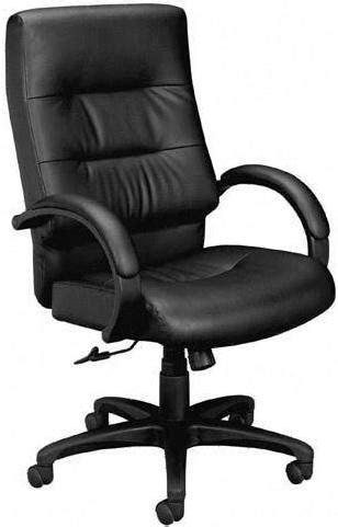 Basyx High Back Plush Leather Executive Chair [VL691