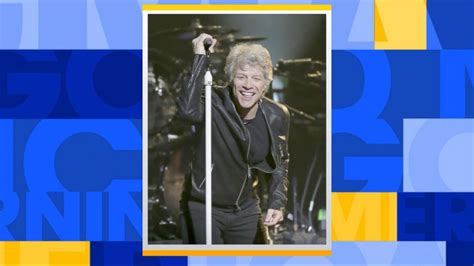 Jon Bon Jovi Tells Gma Will Perform College