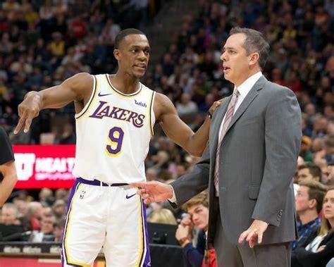Lakers News: Frank Vogel Wants Rajon Rondo To Help Coach ...