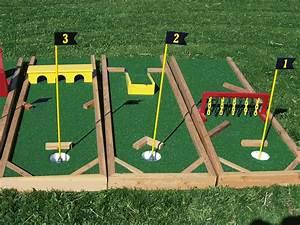 diy mini golf obstacles crafts diy pinterest golf With katzennetz balkon mit garden games free
