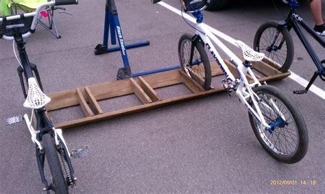 homemade bike rack    truck  keystone