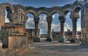 Zvartnots Cathedral - Ruin in Armenia - Thousand Wonders  Zvartnots