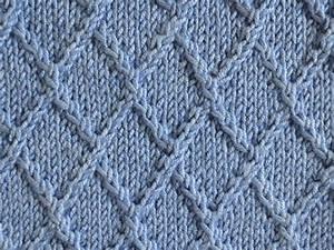 Textured Knits  Lattice Stitch