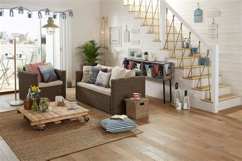 Nautical Decor Collection 2015  Beach Style  Living Room