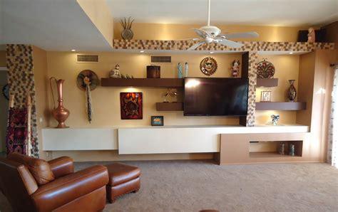 custom media wall     twd design