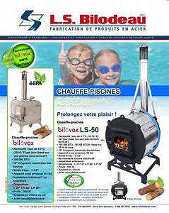 Chauffe Eau Bois : chauffe piscine au bois bilovax ls bilodeau ~ Premium-room.com Idées de Décoration