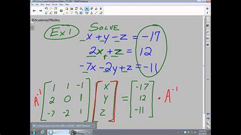inverse berechnen  aufgabe   determinante und