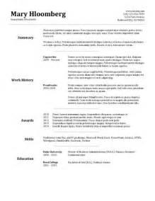 basic resume templates pdf basic resume templates