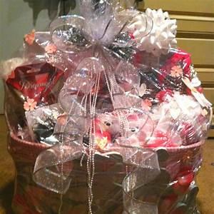 bridal shower gift basket complete pinterest With wedding shower gift baskets