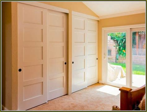 Sliding Double Closet Doors Roselawnlutheran